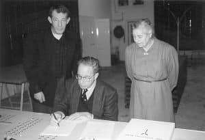 Unifying Field, Signing, Victor & Nettie Westhof