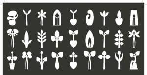 Ikoon, icoon, Kunstenaars Adelheid & Huub kortekaas, kunstproject, blauwdruk, een levenlang, iconografie, archaisch,