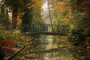 bridge, footbridge, Artists Huub & Adelheid Kortekaas, art,light-sculpture, design, street-architecture, Arboretum Trompenburg, garden architecture, garden design,