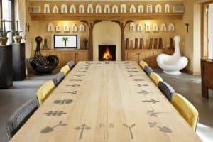 design, interior, tables, icons, Sculptures, Artists Huub & Adelheid Kortekaas, art, spirituality,