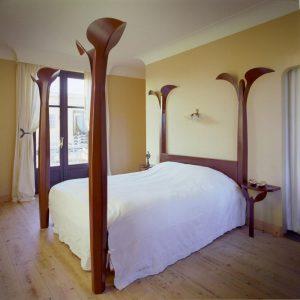 bed, corten steel, P.C. Hooft, Sculptures, Artists Huub & Adelheid Kortekaas, art, spirituality,